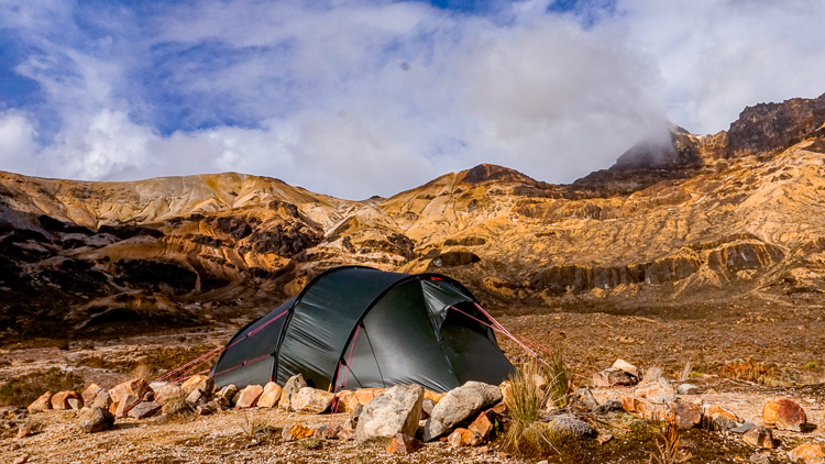HIlleberg Nallo 3GT camping in Colombia