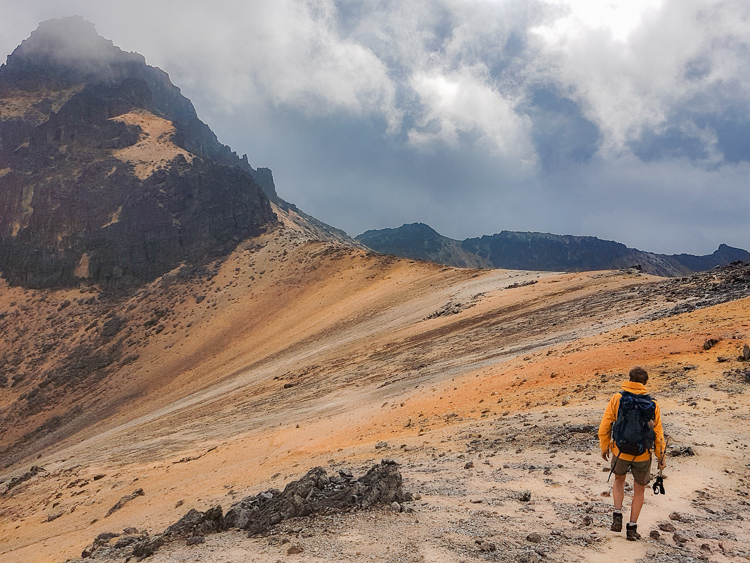 Hike Los Nevados without a guide on the top of the Paramillo de Quindio